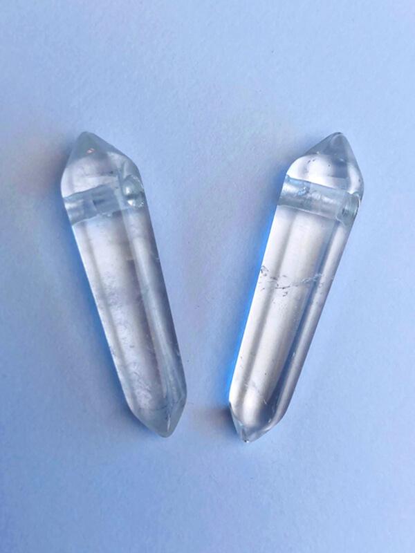 Bergkristall Doppelender Anhänger