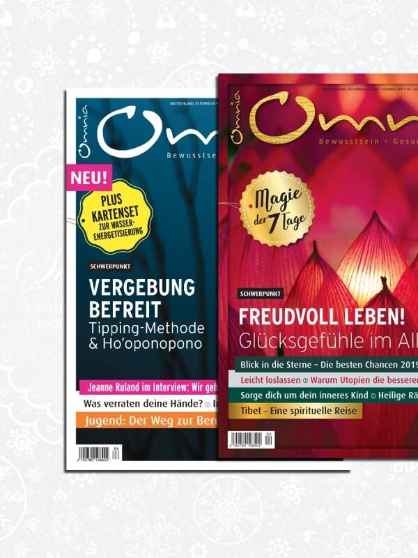 omnia magazin Freiheit – 2 Ausgaben: Freude & Vergebung