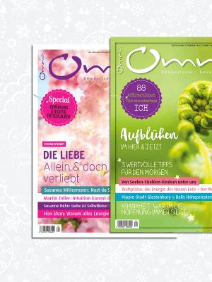 omnia magazin Freiheit – 2 Ausgaben: Aufblühen & Liebe