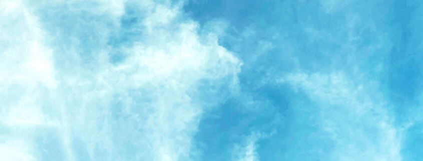 Erzengel Gabriel Wolken