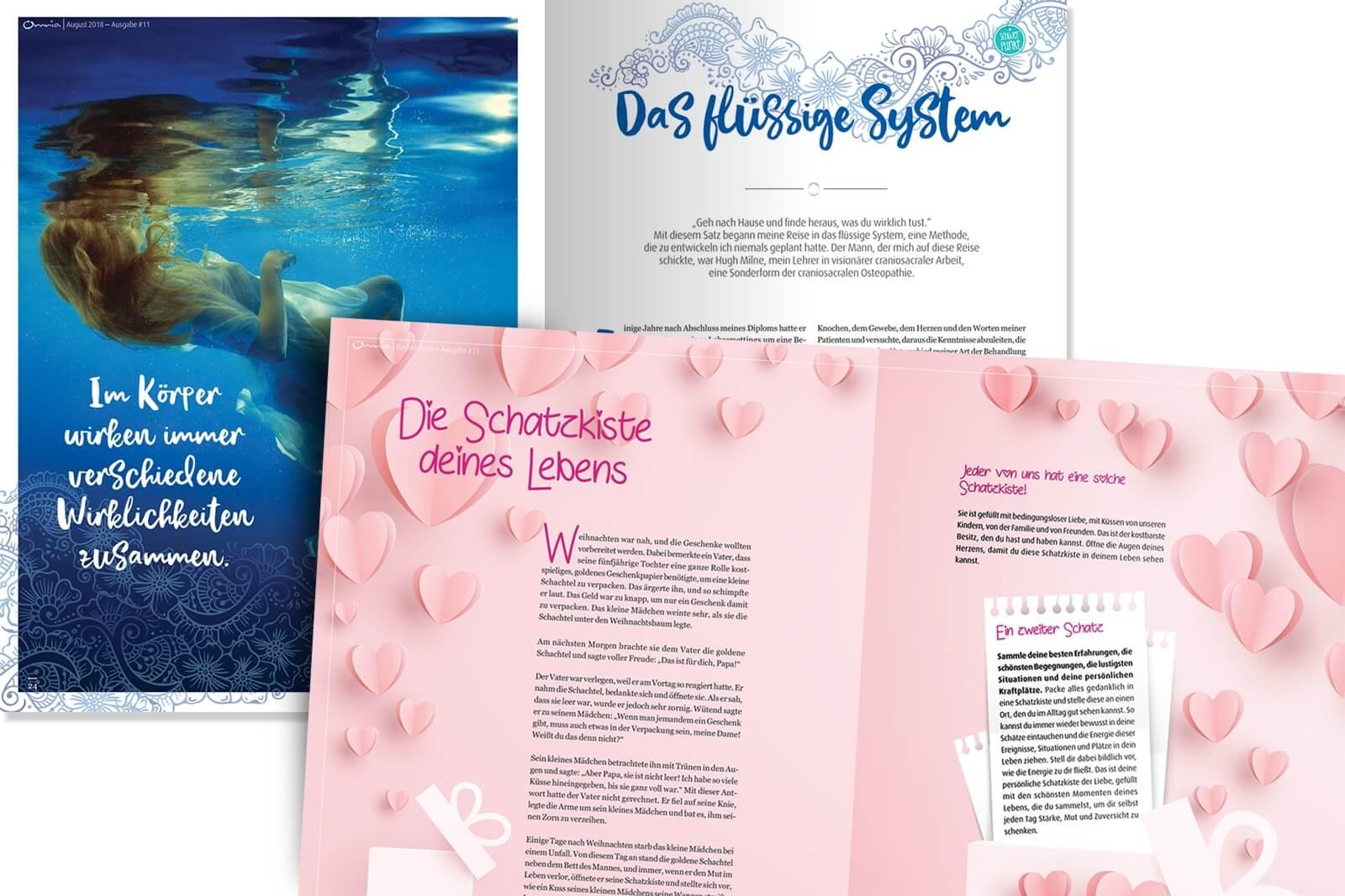 spirituelles Magazin Omnia Einblicke