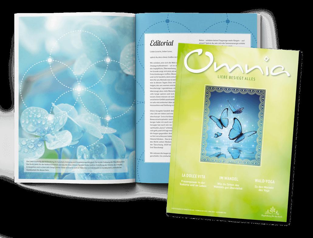 Leseprobe Omnia Nr. 16 mit Editorial