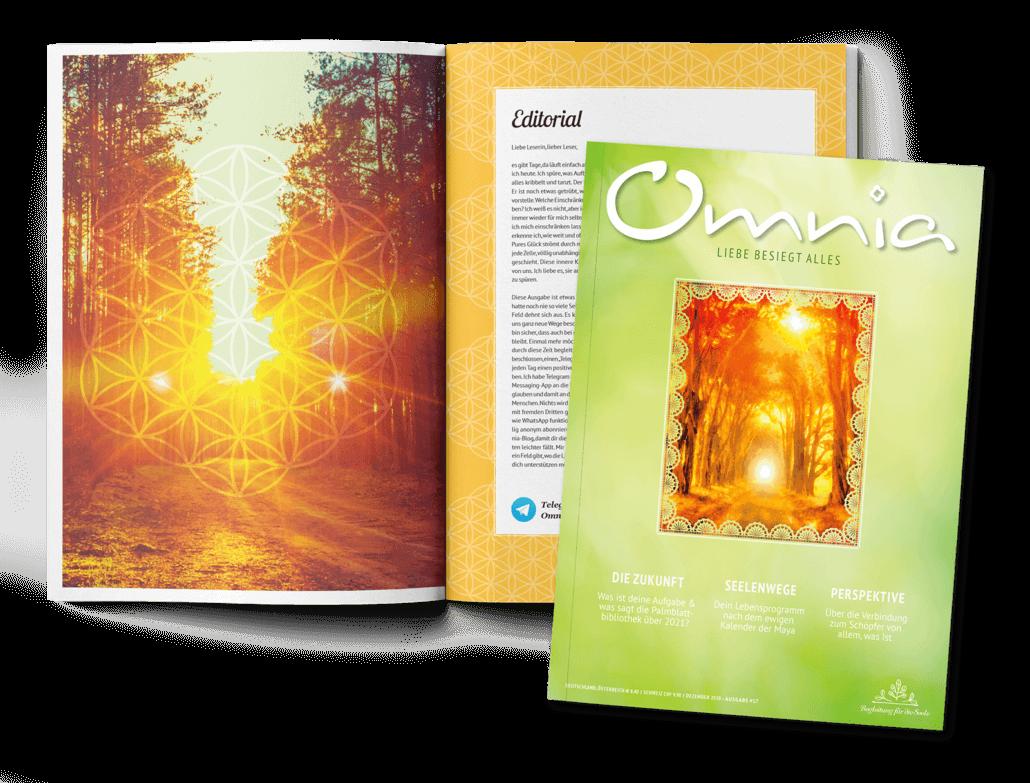 Omnia; Omnia Ausgabe Nr. 17 mit Editorial