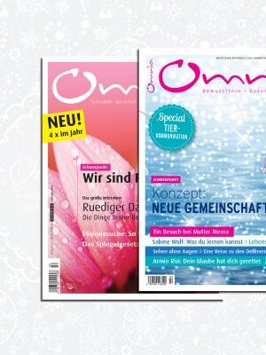 omnia magazin Freiheit – 2 Ausgaben Familie & Gemeinschaft