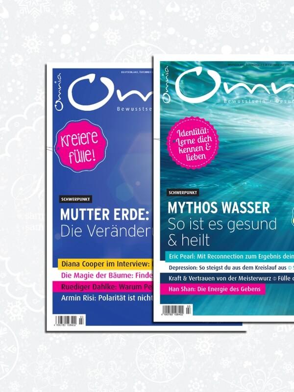 omnia magazin Freiheit – 2 Ausgaben Mutter Erde & Mythos Wasser