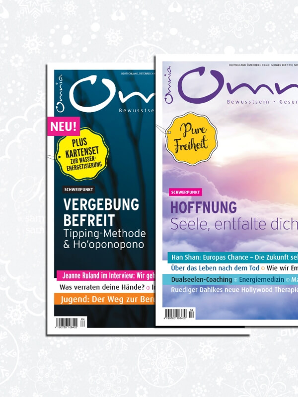 omnia magazin Freiheit – 2 Ausgaben Vergebung & Hoffnung
