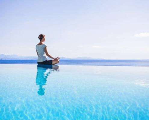 Spirituelles Coaching Yogasitz Meditation